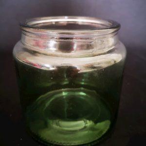 Vase fumé vert F029